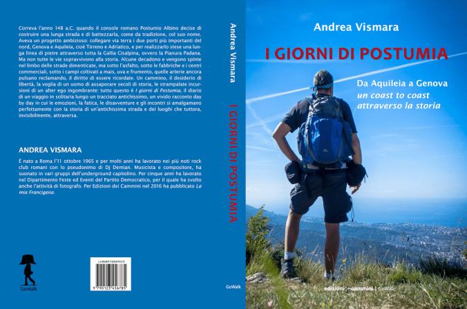 Andrea Vismara racconta i Giorni di Postumia alla Libreria Namastè di Tortona