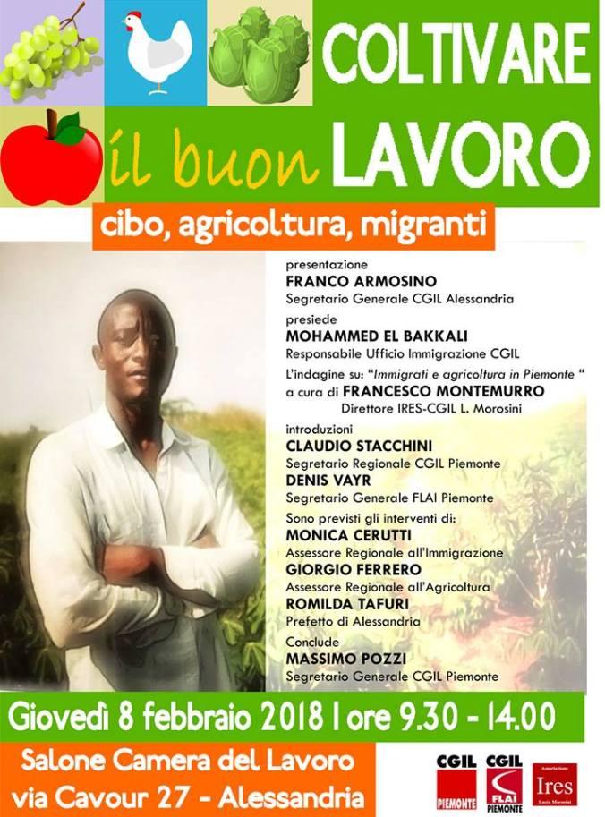 Il convegno su agricoltura e immigrazione ad alessandria