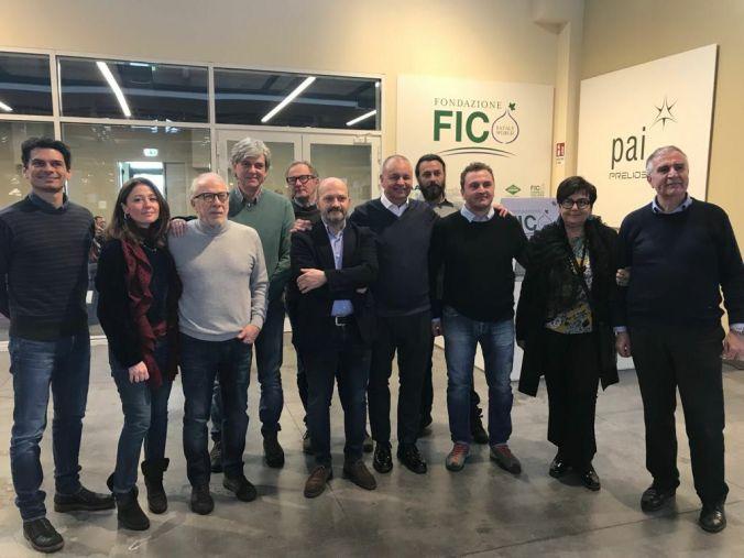 Il coordinamento nazionale delle strade del vino, dell'olio e dei sapori presso la sede di Fico eataly word di bologna