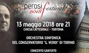 Perosi Festival 2018 – Il Conservatorio di Torino apre il Festival delle Orchestre Giovanili di Tortona