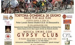 Le Bellezze in Bicicletta aspettano i Ciclostorici in una Tortona che diventa Retrò