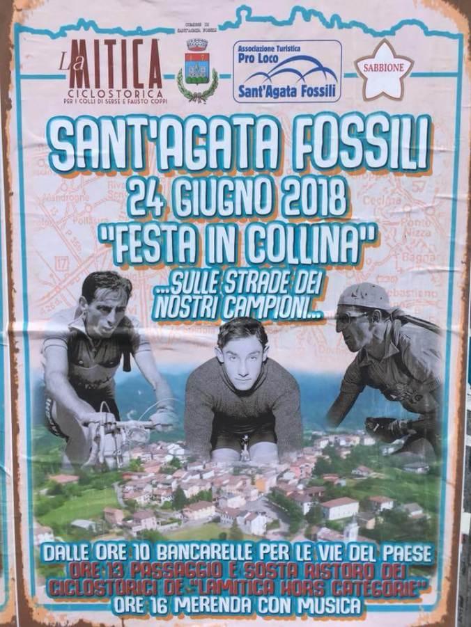La Mitica 2018 Festa in collina a Sant'afata fossili