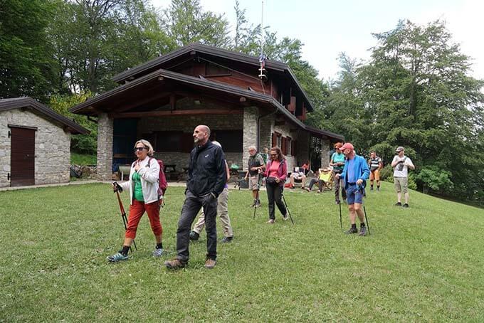 Fine settimana di trekking e amicizia al Rifugio Ezio Orsi di Caldirola