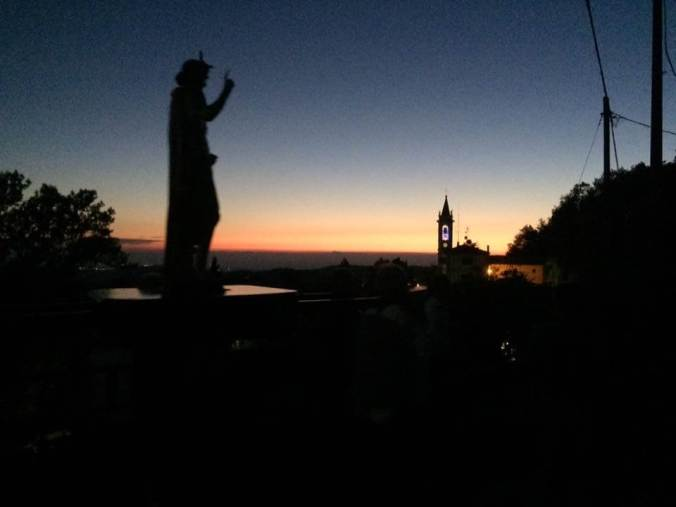 Cena Panoramica e fuochi di San Giovanni