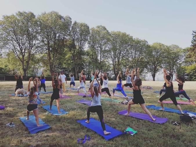 Sabato 9 giugno 2018 Yoga al castello di tortona