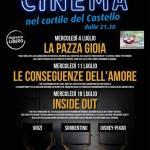 Castelnuovo Scrivia – Al via i mercoledì con il cinema all'aperto a ingresso gratuito