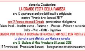 Festa della Panissa ed elezione di Miss Principato di Lunassi
