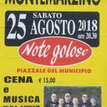 Montemarzino – Cena e Musica dal vivo con i MTCM Band