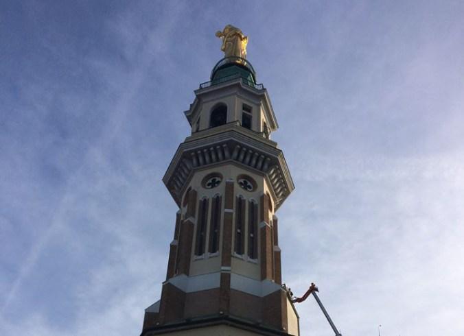 Festa della Madonna della Guardia dalla Torre del santuario