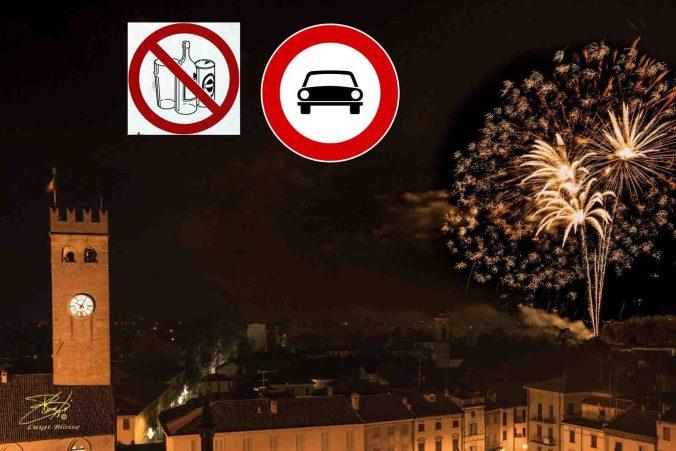 Limitazioni al traffico per i fuochi di Cstelnuovo Scrivia