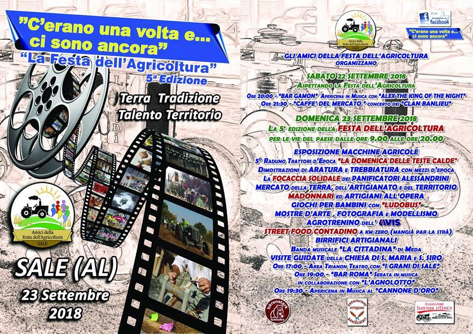 Festa dell'agricoltura 2018 a Sale
