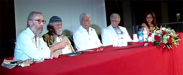Lino Scopelli, Moni Ovadia, Giampaolo Bovone, Marco Revelli, Cinzia Rescia a Viguzzolo