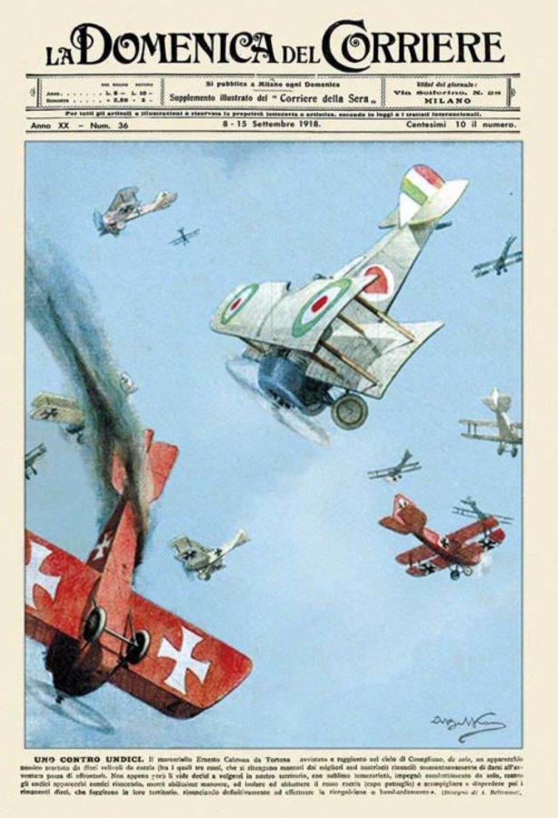 Ernesto Cabruna, un tortonese (contro undici) Asso italiano della Prima Guerra Mondiale