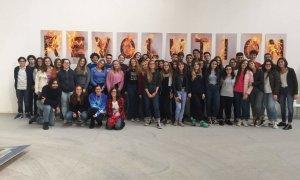 """Anche gli alunni del Liceo Peano hanno visitato la Mostra """"Progetto Sesto Stato"""""""