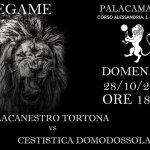 La Pallacanestro Tortona domenica affronta in casa la Cestistica Domodossola