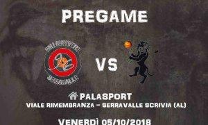 Pallacanestro Tortona – L'esordio in serie D contro la Pallacanestro Serravalle