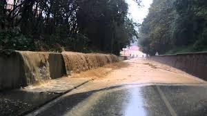 Una sconvolgente immagine di Novi Ligure durante l'alluvione del 2014