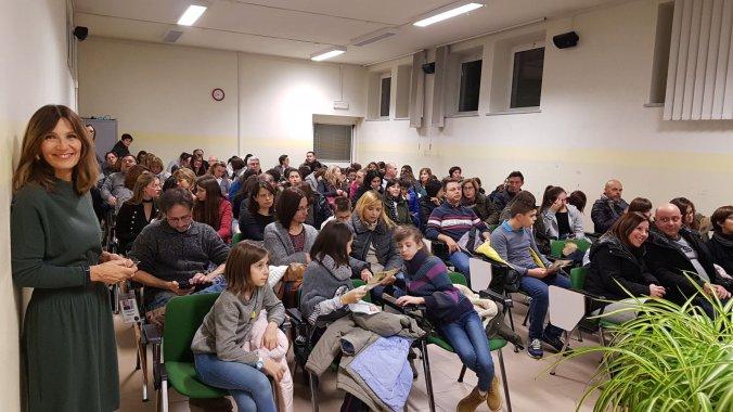 Il pubblico alla seconda open night del liceo peano di tortona