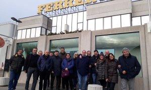 Cia Alessandria in visita alla Ferrero di Alba
