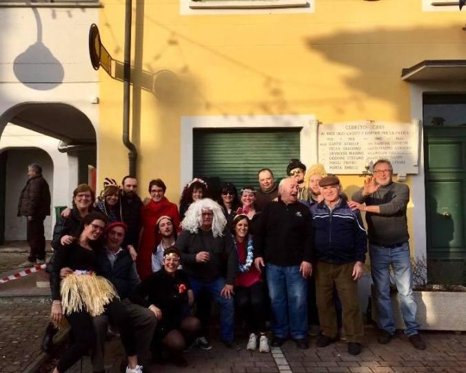 La pro loco di Cerreto Grue da quarant'anno organizza il Carnevale in piazza