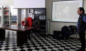 Rocco Diana e Armando Bergaglio incantano l'Istituto Marconi-Carbone raccontando 25 secoli di storia locale
