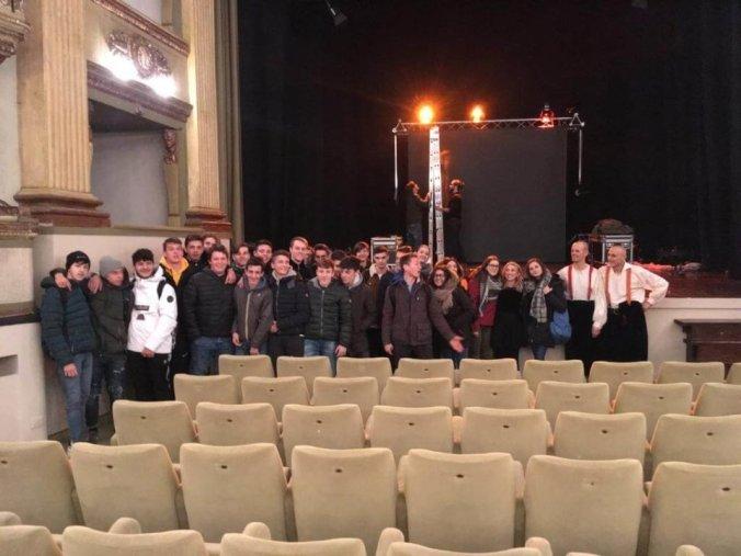 Foto di Gruppo al Teatro Civico di Tortona