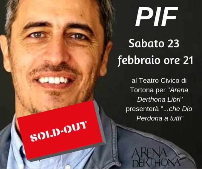 Pif al Teatro Civico di Tortona