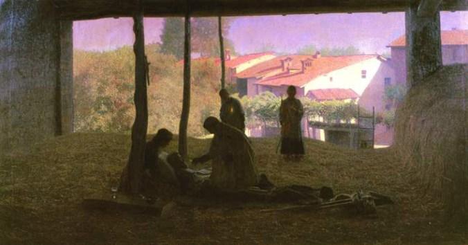 Sul Fienile, il dipinto che sarà esposto a Volpedo nell'estate 2019