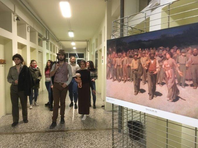 Pellizza & Saccaggi al Liceo Peano