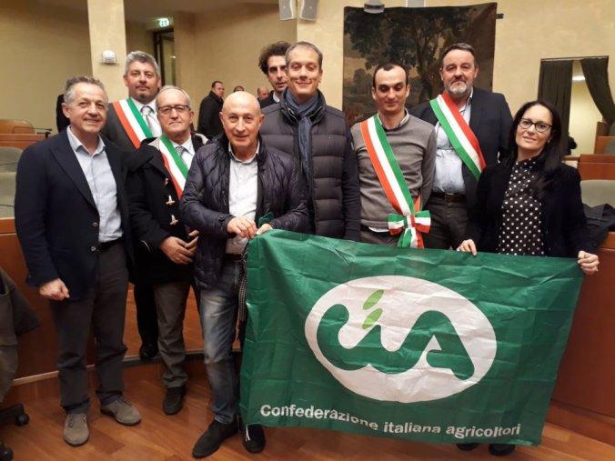 La Cia e i sindaci dei territori agricoli italiani