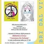 Sofia Gallo ospite alla Biblioteca di Tortona per Libri dal Vivo