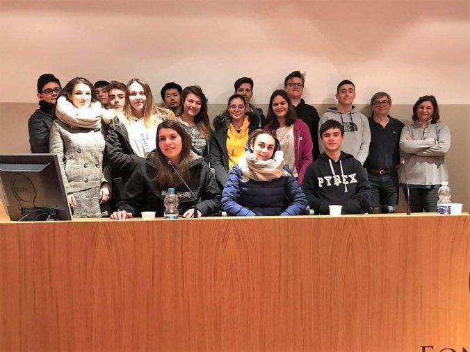 L'Istituto Marconi in sala congressi della Fondazione CR Tortona