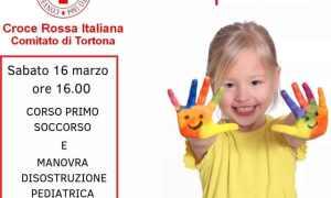 La Croce Rossa di Tortona insegna il primo soccorso per i bambini