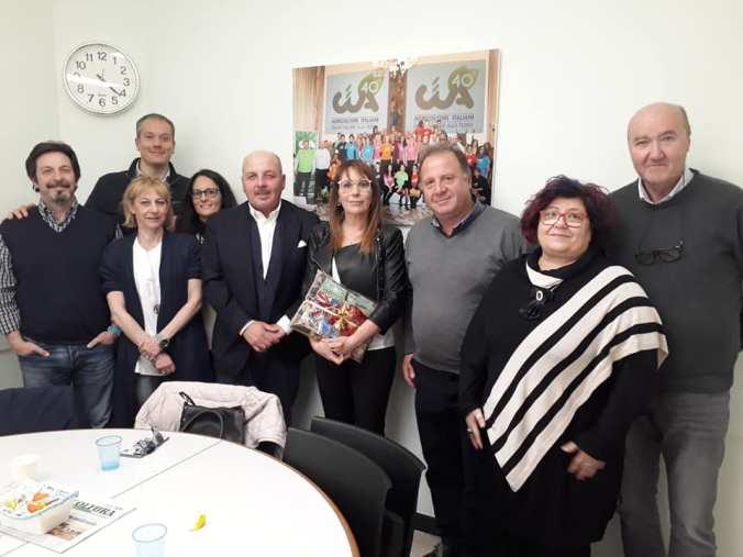 l'incontro istituzionale tra Dino Scanavino, presidente nazionale Cia, e l'onorevole Tiziana Beghin, portavoce al Parlamento Europeo M5S,