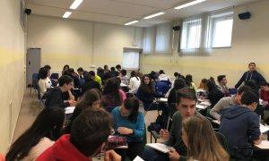 Anche il Liceo Peano ha partecipato al Pigreco-day deI 14 marzo