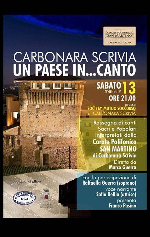 Concerto alla soms di Carbonara Scrivia