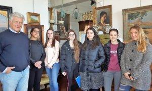 L'Istituto Marconi in visita al laboratorio di restauro Gabbantichità