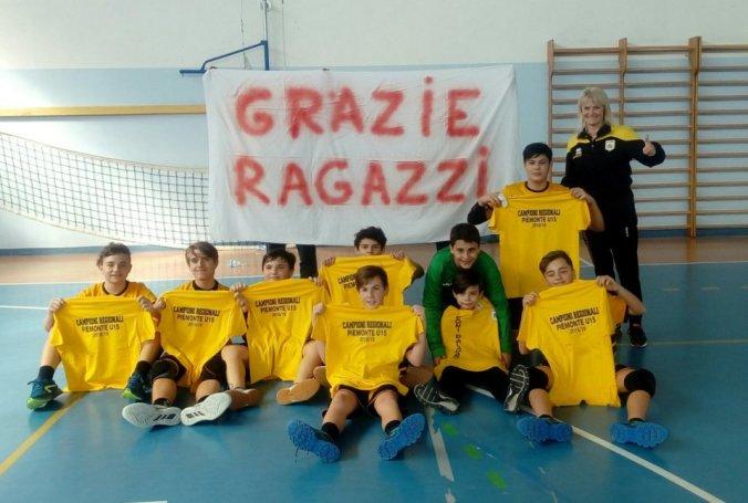 Under 15 Campioni del Piemonte