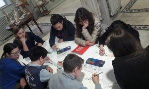 Lezioni di didattica museale alla Pinacoteca il Divisionismo di Tortona