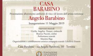 Tortona – Apre al pubblico la casa del Pittore Angelo Barabino