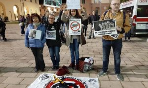 Salvini in convegno a Tortona, c'è chi dice NO!