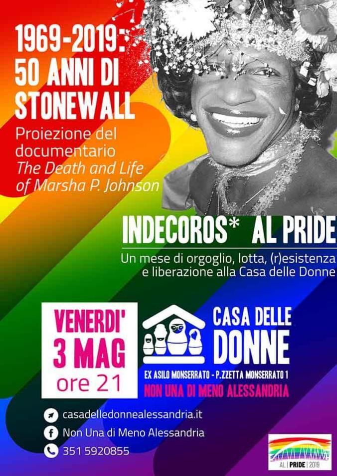 locandina Indecoroso al pride
