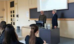Prove tecniche di Università per i ragazzi dell'Istituto Marconi
