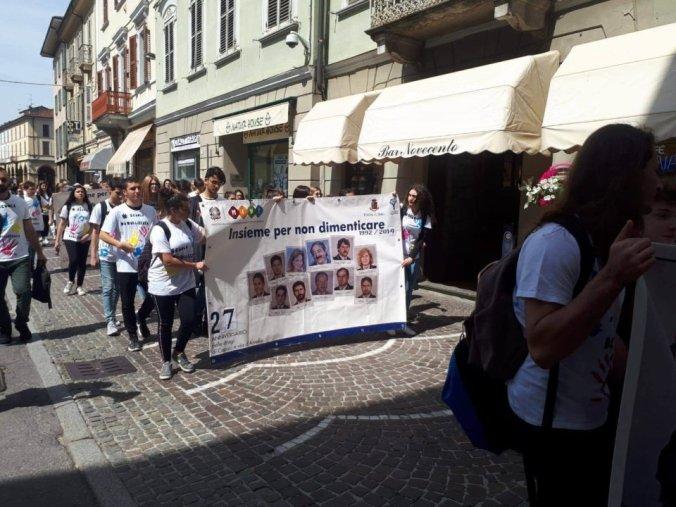 OLTRE I CENTO PASSI – Camminata in ricordo delle vittime di mafia