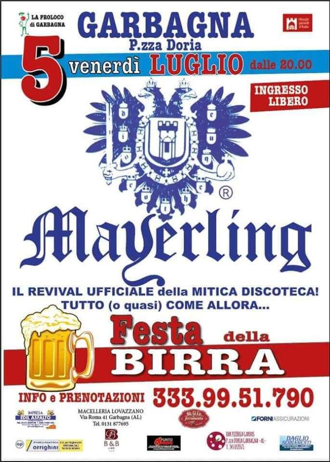 serata Mayerling a Garbagna