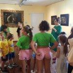 I Centri estivi in visita a Garbagna per la mostra su Saccaggi
