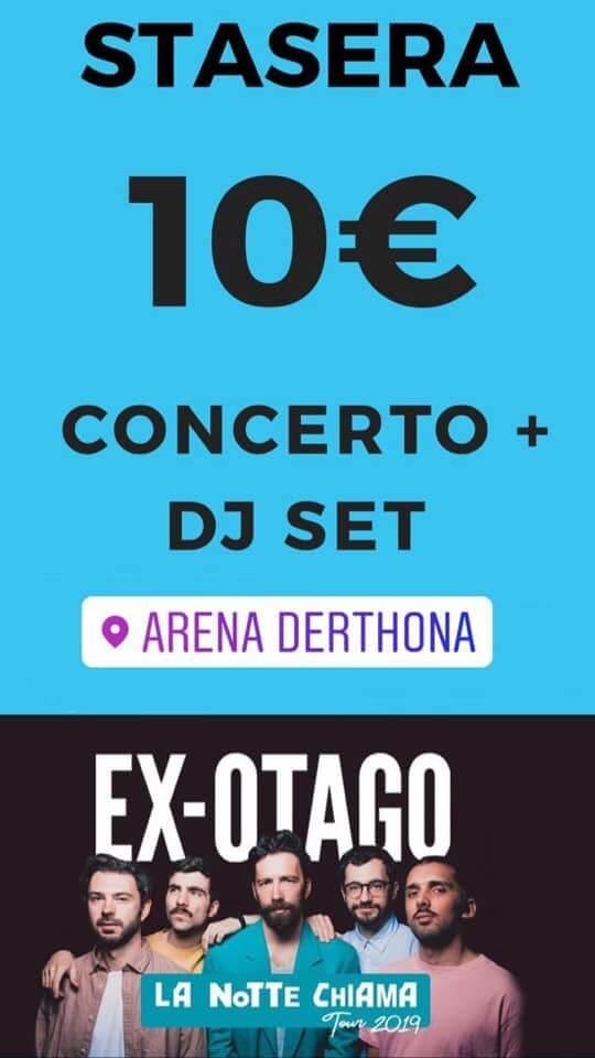 ex otago ad arena derthona 2019