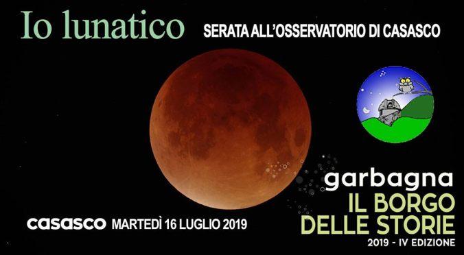 Io Lunatico, Emanuele Arrigazzi all'Osservatorio Astronomico Naturalistico di Casasco
