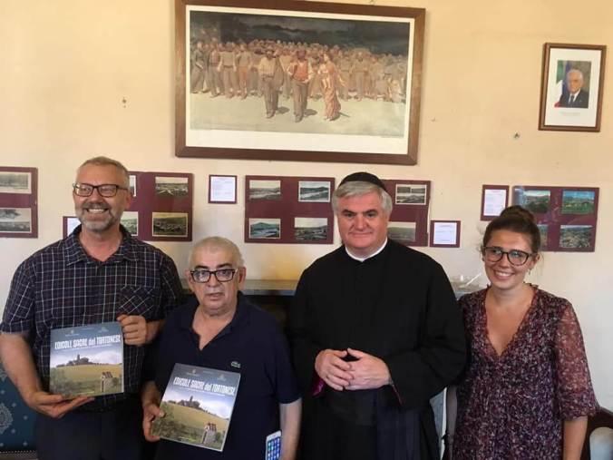 Luciano Ferrario, Giancarlo Caldone, Don Fulvio Sironi, Elisa Giardini