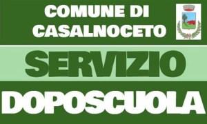 A partire da martedì 24 settembre a Casalnoceto sarà attivo il servizio di doposcuola fine alle 17,30
